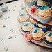 Lily + Brian's wedding cupcakes