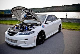 Justin Whitteds Twin Turbo Mazda 6 NX