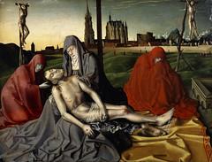 Pieta, 1440, by Konrad Witz