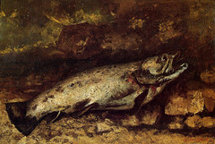 The Trout, 1873, by Courbet