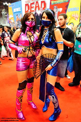 Mileena and Kitana