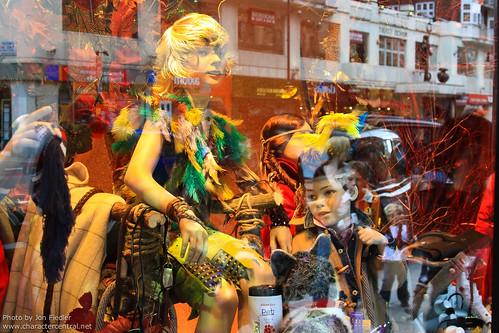 London Nov 2010 - Peter Pan Window Displays at Harrods by PeterPanFan