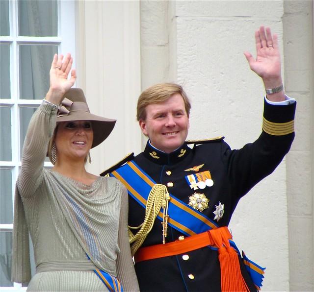 Prinses Maxima en Prins WillemAlexander.