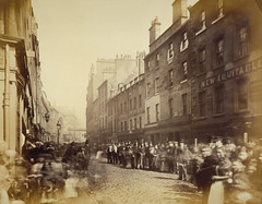 Saltmarket from Bridgegate, Glasgow, 1868-71, by Thomas Annan