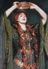 Miss Ellen Terry as Lady Macbeth, detail, 1899, by John Singer Sargent