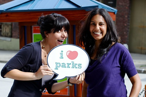 Park(ing) Day visitors by kingcountyparks