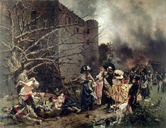 Massacre de Machecoul, 1884, by François Flameng