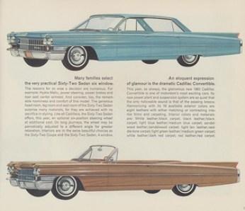 1963 Cadillac Sedan Six-Window and Convertible