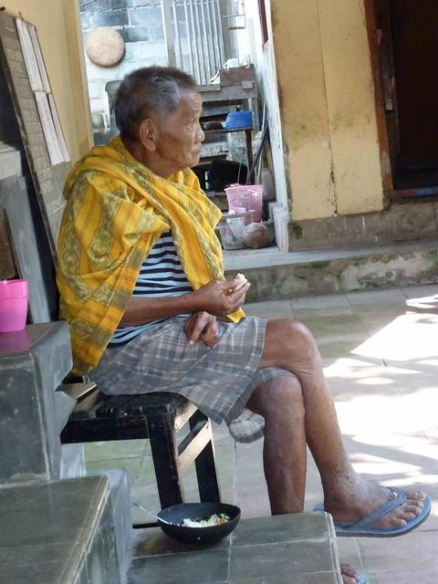Pak Cebur: our resident 'sadhu'
