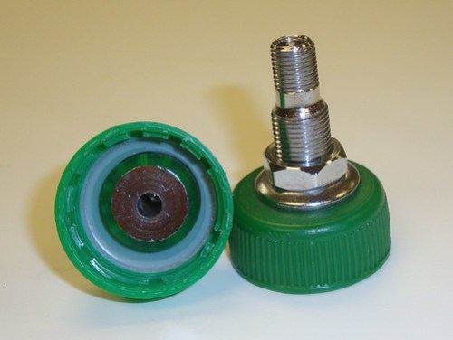 Carbonation Caps With Fittings