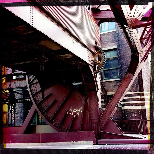 Scherzer Rolling Lift Bridge on Cermak