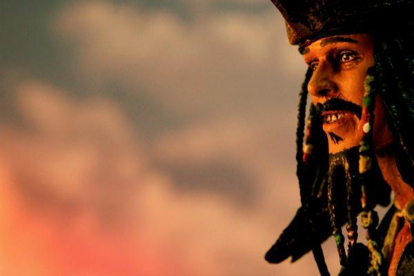 """""""Yo ho, yo ho, a pirate's life for me."""""""