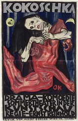 Murderer, the Hope of Women, 1909, by Oskar Kokoschka