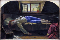 The Death of Chatterton, 1856, by Henry Wallis