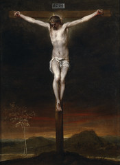 The Crucifixion, second third of the seventeenth century, by Alonso Cano