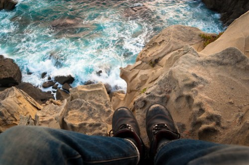 On the Edge of a Tafoni Cliff