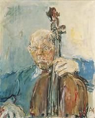 Pablo Casals, 1954, by Kokoschka