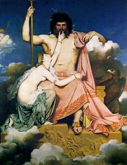 Jupiter et Thetis, 1811, by Ingres