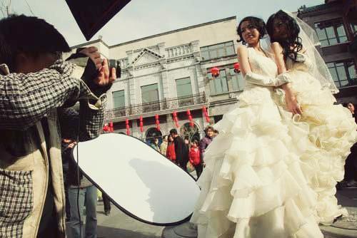 Beijing * Wedding photoshoot ~ via Chinahush