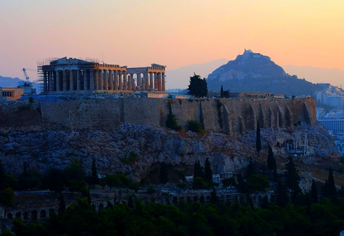 Dawn in Athens