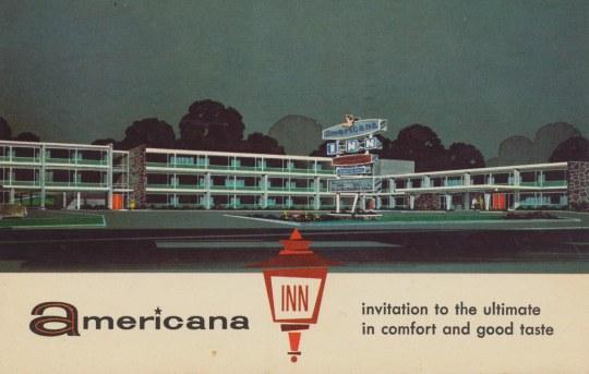 Americana Inn - Des Plaines, Illinois U.S.A. - 1962