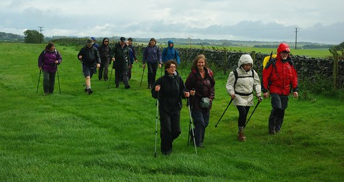20110918-18_Midland Hill Walkers on West Mendip Way nr Gorsey Bigbury by gary.hadden