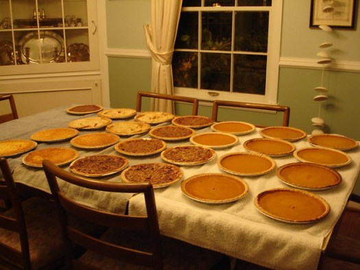 Thanksgiving Pies of 2005
