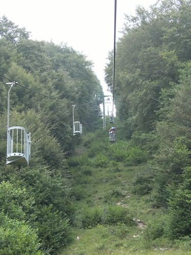 old chair lift