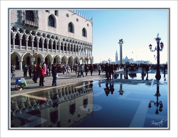 mirror landscapes, Acqua Alta Venice