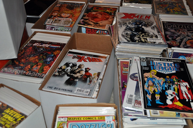 Sorting Comics Ain't Easy