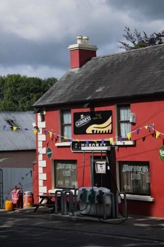 Pub, petrol station and shop