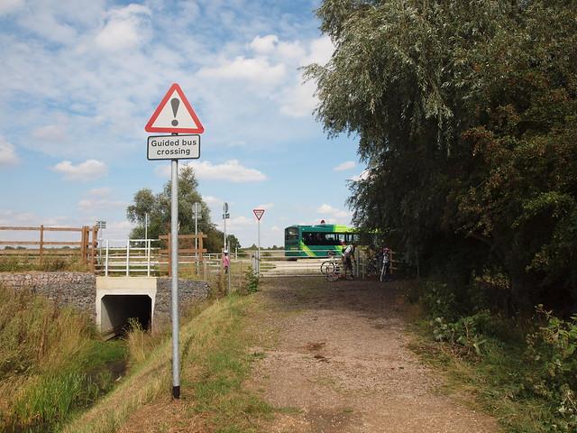 Busway - Bridleway Crossing