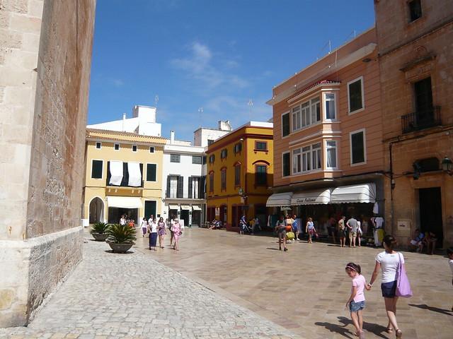 centro di Ciutadella - Minorca