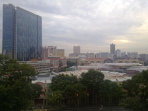Mirador gratis, situado en Fort Canning Park, en Singapur