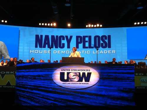 Leader Pelosi at United Steelworkers Conference