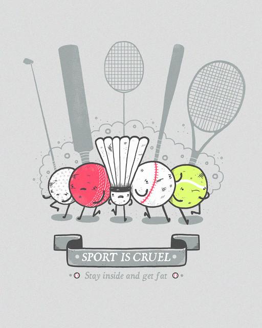 Sport is cruel