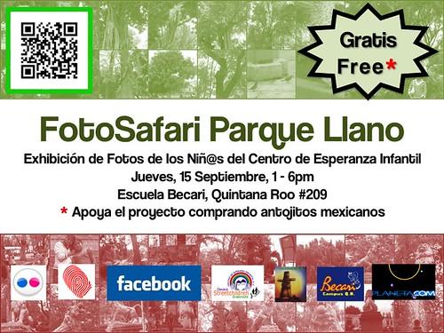 FotoSafari: Exposición de fotos de los niñ@s del Centro de Esperanza