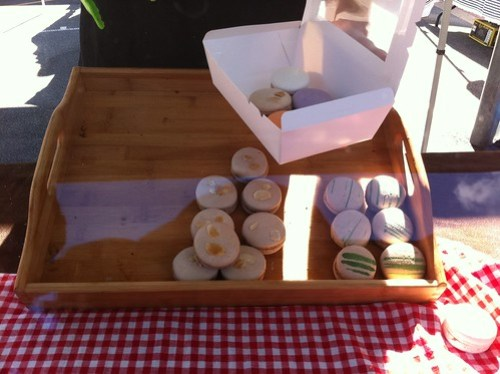 Macarons at the Subiaco Farmers Market