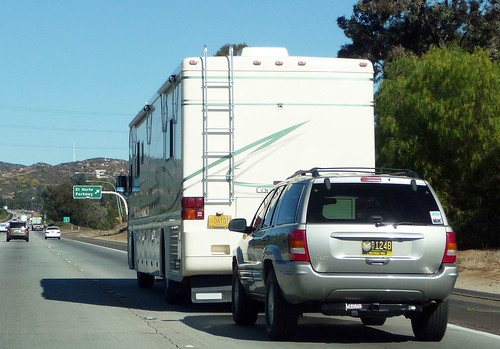 RV Towing SUV