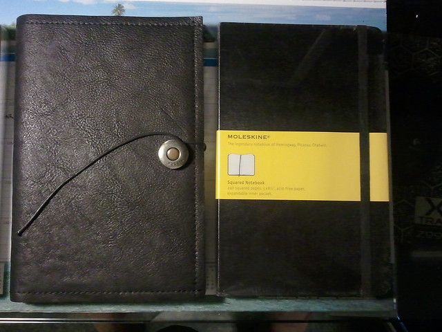 Comparison to Large Moleskine