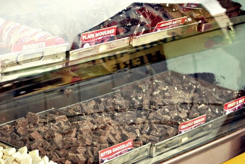 Homemade chocolate everywhere - Ooty