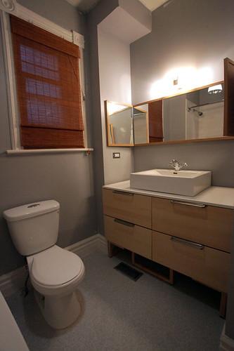 finished bathroom