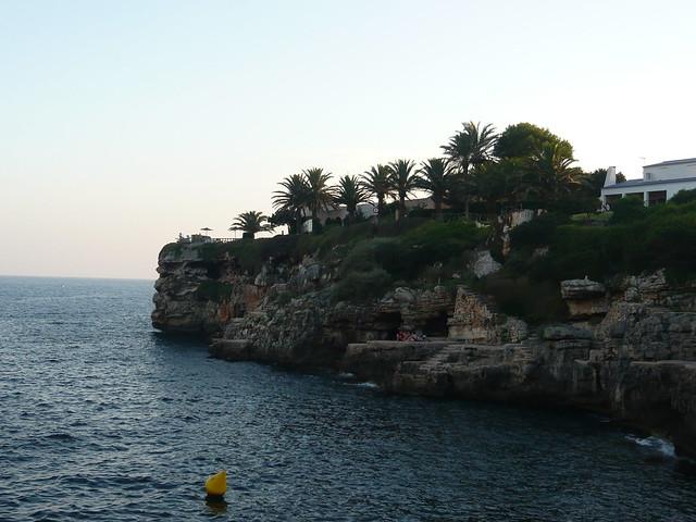 vista panoramica da Cala En Brut - Minorca