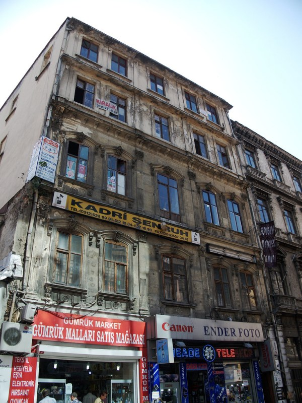 A building in Istanbul