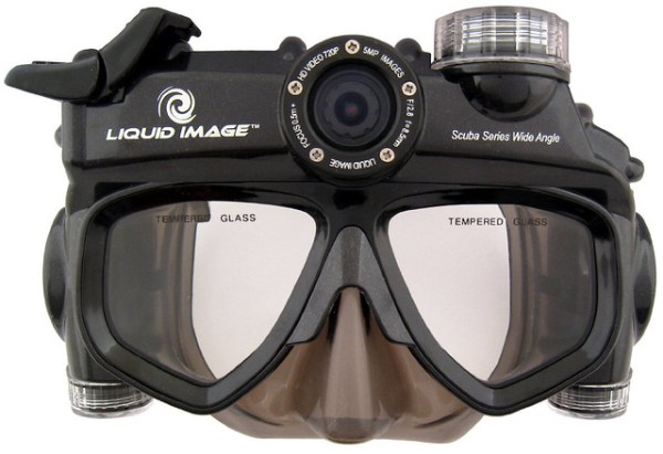 Liquid Image's Wide Angle Video Scuba Mask [review ...