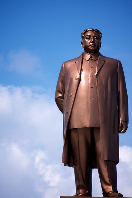 Kim II Sung Statue