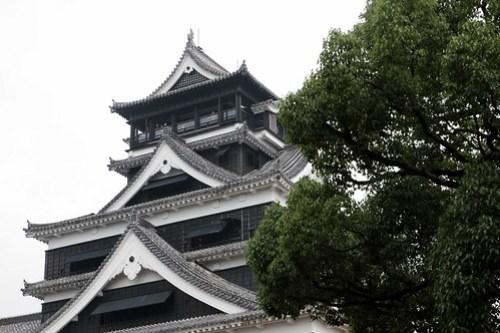 熊本城 kumamoto castle japan