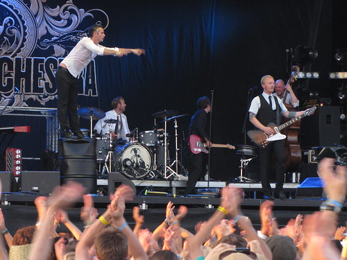 Kaizers Orchestra live at Frequency Festival