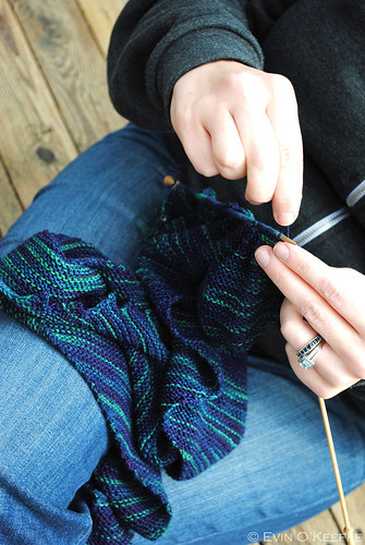 Voxless Knitting Close-up