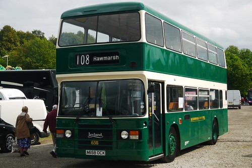 Leyland Olympian, A658 OCX, Mexborough and Swinton